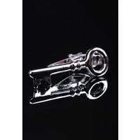 La Pescara Anahtar Gümüş Kravat İğnesi Kıy18