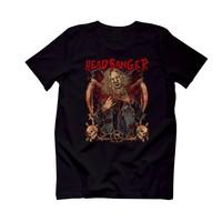 The Chalcedon Headbanger Erkek Rocker T-Shirt Printed
