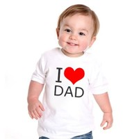BuldumBuldum I Love Dad Çocuk T-Shirt