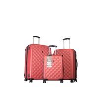 It Luggage Polycarbonate Set Bordo L-(78*55*33)M(70*47*32)S(55*40*22)