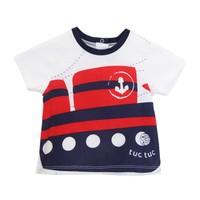 Tuc Tuc Gemi Baskılı T-Shirt Ancla