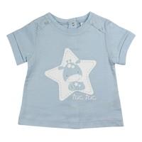 Tuc Tuc Omuzu Düğmeli T-Shirt Baby Star