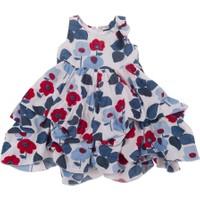 Tuc Tuc Çiçek Baskılı Elbise Lady Marine
