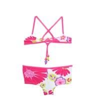 Tuc Tuc Çiçek Desenli Boncuklu Bikini Beach Club