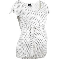 Bpc Bonprix Collection - Beyaz Hamile Giyim Bluz
