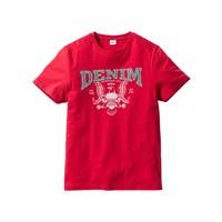John Baner Jeanswear Kırmızı T-Shirt Regular Fit