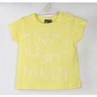 Losan Kız Bebek Sarı Tshirt