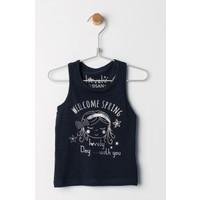 Losan Kız Çocuk Lacivert Tshirt