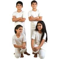 Çocuk %100 Yün Takım Atlet+İçlik Antibakteriyel Doğal Sağlıklı (Bay-Bayan)