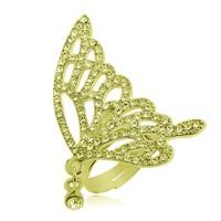 Bee One Zirkon Taşlı Kelebek Bijoux Yüzük bf50sr