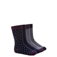 DeFacto Erkek Lacivert 4'Lü Soket Çorap