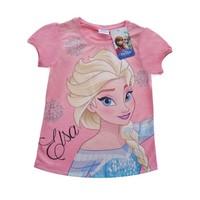 Frozen Tshirt - Elsa Tişört - Pembe