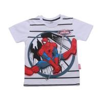Örümcek Adam Tişört - Beyaz - Ultimate Spiderman T-shirt