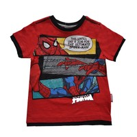 Örümcek Adam Tişört - Kırmızı - Ultimate Spiderman T-shirt