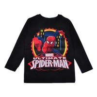 Spider-Man Uzun Kol T-Shirt Siyah (3-7 yaş)