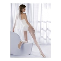 Gabriella Beyaz Külotlu Çorap charme03 bianco