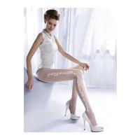 Gabriella Beyaz Külotlu Çorap charme05 bianco