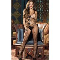 Miss Lancy Fiyonklu Vücut Çorabı Bodystocking mly390