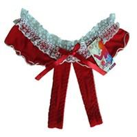 Miss Lancy Kırmızı-Beyaz Fırfırlı Külot mly9002krby