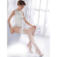 Gabriella Beyaz Jartiyer Çorabı princessa09 bianco