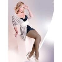 Gabriella Siyah 6 no Plus Size Külotlu Çorap rubensa nero