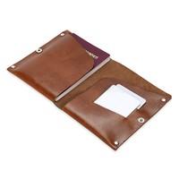 TripleWallet Handmade Deri Pasaport ve Kredi Kartlık ( Unisex)