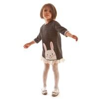 Mushi Tavşan Dantelli Elbise
