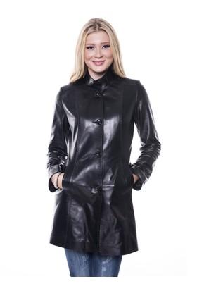 İparelde B105 Siyah Bayan Deri Ceket