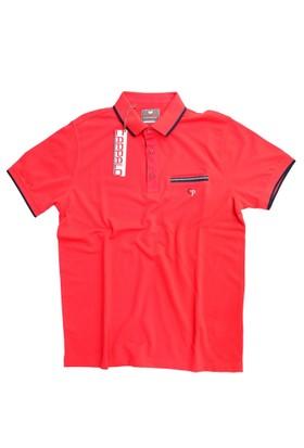 Cappalo 916 Kırmızı Cepli T-Shirt Kırmızı
