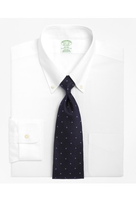 Brooks Brothers Düğmeli Yaka Ekstra Slim Gömlek