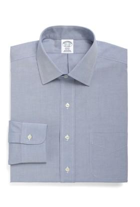 Brooks Brothers Düğmeli Açık Mavi Gömlek