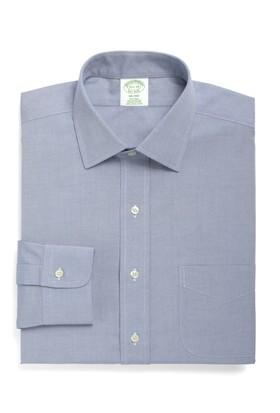 Brooks Brothers Kravat Yaka Ekstra Slim Beyaz Gömlek