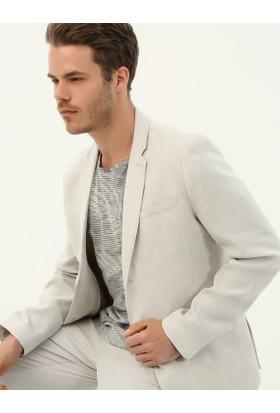 Koton Erkek Cep Detaylı Ceket Bej