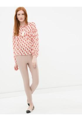 Koton Kadın Dar Kesim Pantolon Taş