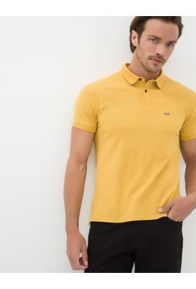 Koton Erkek Polo Yaka T-Shirt Sarı