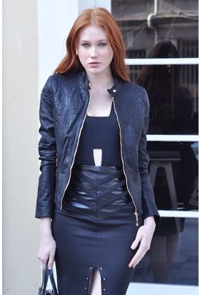 Sofistiqe Siyah Ceket