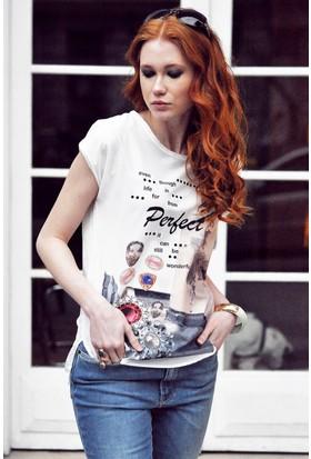 Sofistiqe Perfect Baskılı Tişört