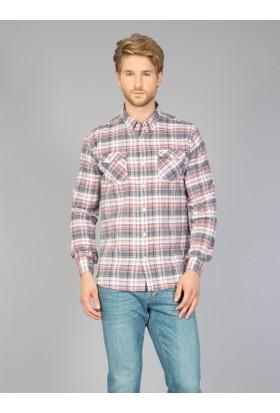 Colin's Gri Erkek Gömlek Uzun Kol