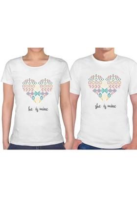 BuldumBuldum Sevgili T-Shirt - Beyaz - Benim O