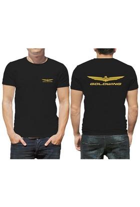 BuldumBuldum Gold Wing Logolu T-Shirt - Erkek