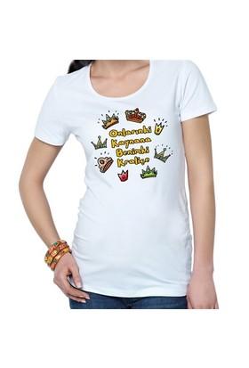 BuldumBuldum Onlarınki Kaynana Benimki Kraliçe - T-Shirt