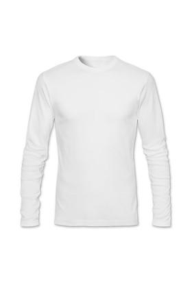 BuldumBuldum Kendin Tasarla - Erkek Bisiklet Yaka T-Shirt Uzun Kollu