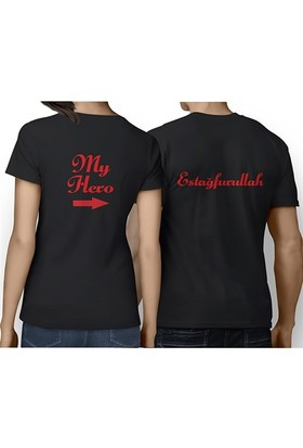 BuldumBuldum Sevgili T-Shirt - Siyah - My Hero