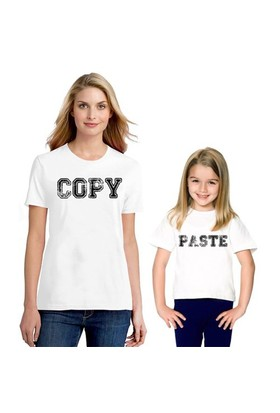 BuldumBuldum Anne Çocuk T-Shirt - Copy Paste