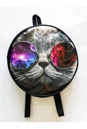 Köstebek Galaxy Cat Sırt Çantası Kyç051
