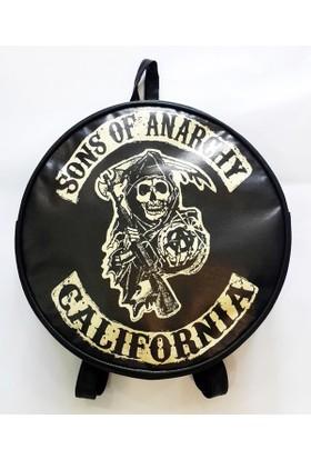 Köstebek Sons Of Anarch - Logo Sırt Çantası Kyç052