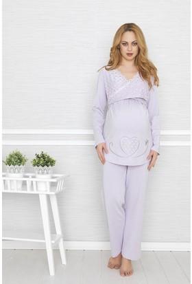 BH2410 Baha Lohusa 2 li Pijama Takımı BH2410 042