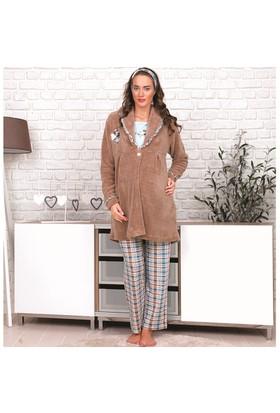 BH2625 Baha Lohusa 3 lü Pijama Takımı BH2625 008