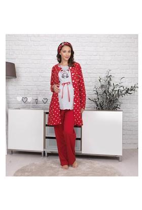BH2632 Baha Lohusa 3 lü Pijama Takımı BH2632 003