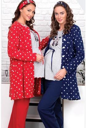 BH2650 Baha Lohusa 2 li Pijama Takımı BH2650 003
